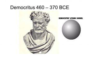 atom democritus