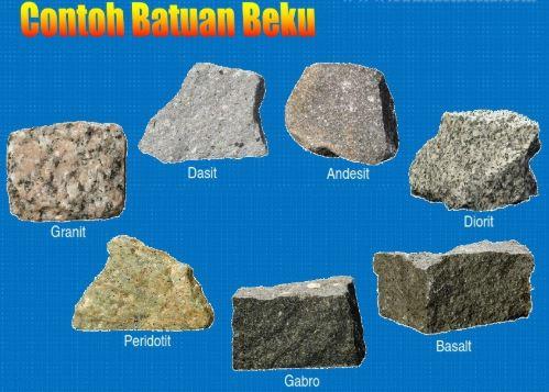 6 Ciri-Ciri Batuan Beku Beserta Jenisnya