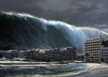 Proses Terjadinya Tsunami Disertai Tandanya